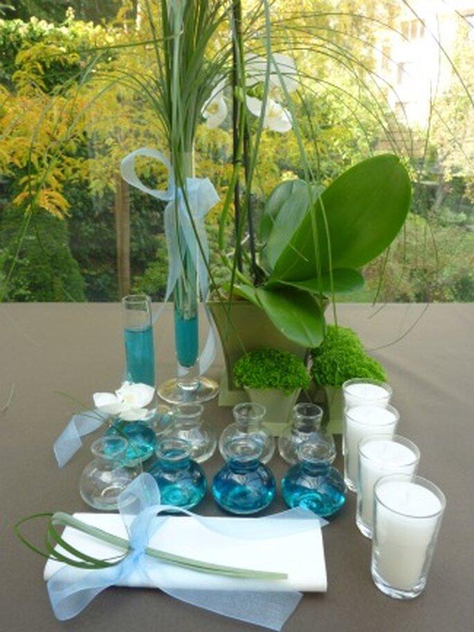 Décoration de table : pourquoi ne pas miser sur la location d'un kit bleu ?