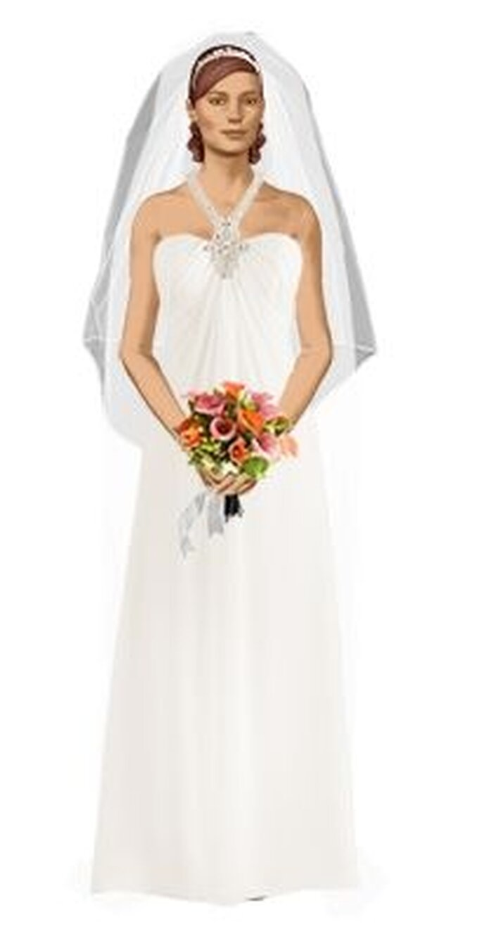 Elige el vestido de novia que te imaginas, diseña y pruebatelo