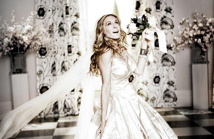El verdadero secreto de una boda icónica es que sea muy mediática. Foto: HBO Films.