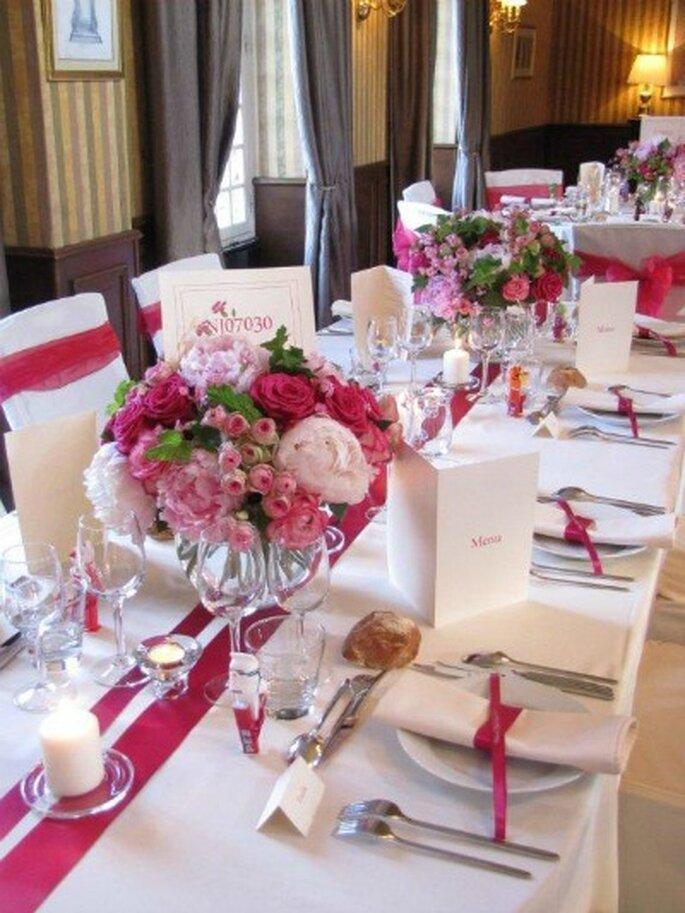 Centres de table fleuris : une merveille !