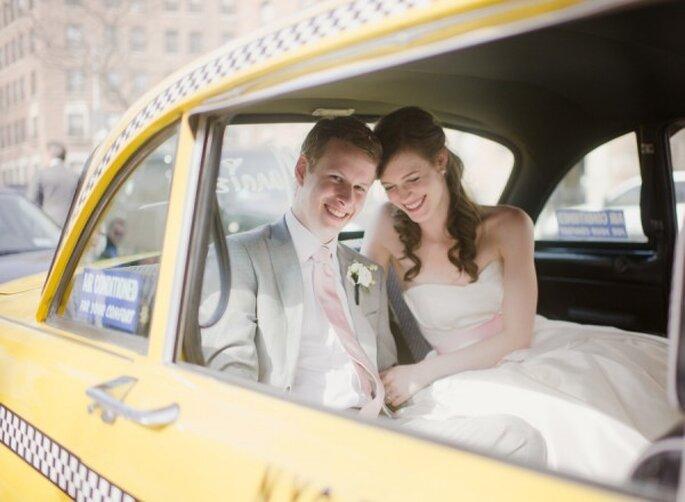 La tendencia de bodas urbanas - Foto Rebecca Yale Portraits