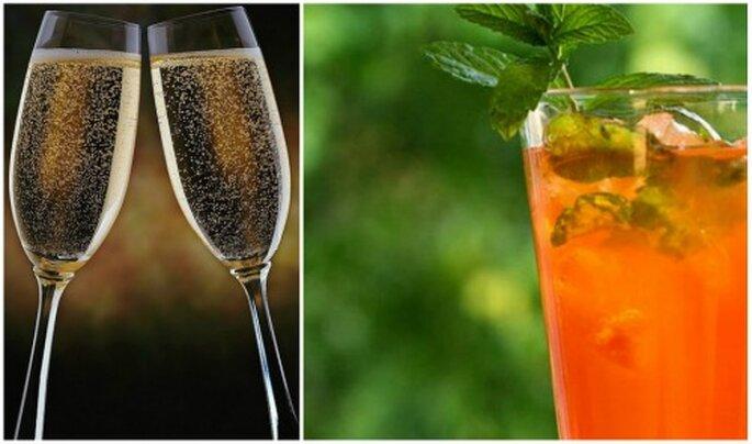 El licor que ofrecen durante la boda si se puede repetir. Foto: maxxtraffic / Carla Teneyck