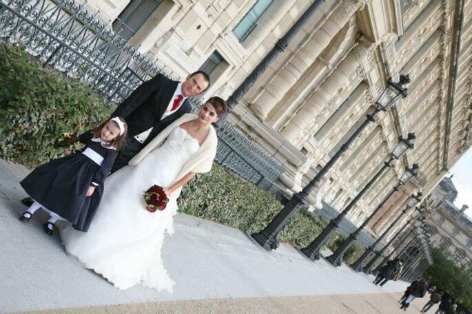 Mariage en hiver : romantique et féérique - Crédit photo : Zontone & associés