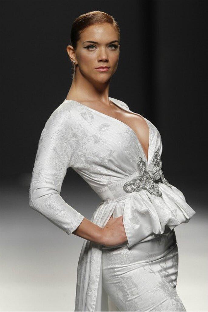 Beatriz Trapote cerró el desfile de vestidos de novia Rafael Urquizar 2012 - Ugo Camera / Ifema