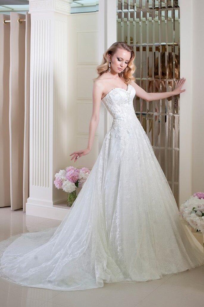 Les robes de mariée Oksana Mukha 2014, un doux mélange de classicisme et d'originalité