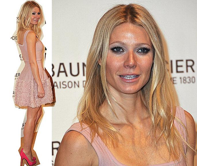 Gwyneth Paltrow, en la presentacion de Baume & Mercier. Foto: Image.net