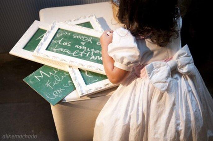 Las frases que escriban tus invitados no sólo las recordaras en tu memoria