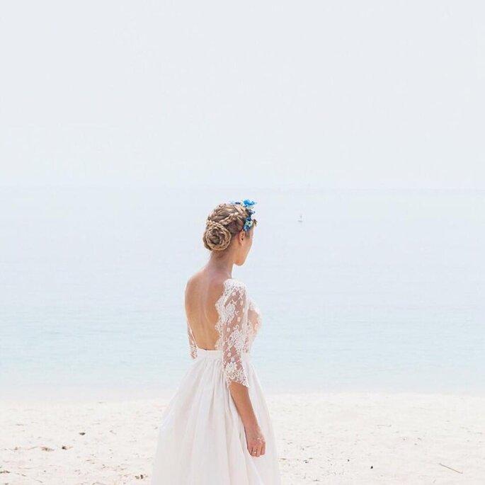 Vestido por Pureza Mello Breyner | Foto por Maria Rão Photography
