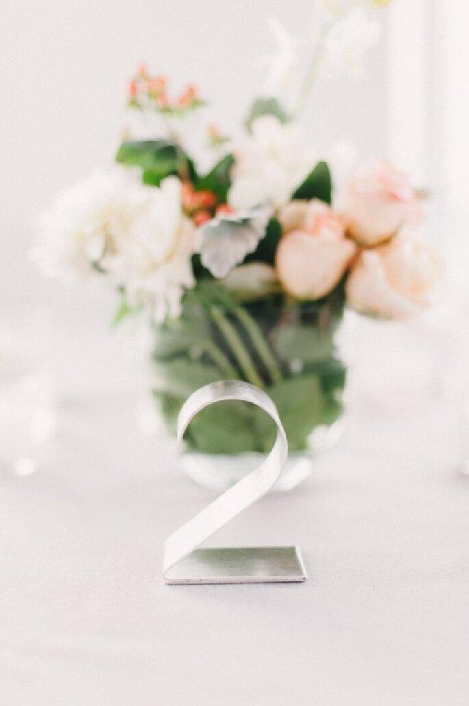 Detalles perfectos para una boda minimalista - Foto Judy Pak