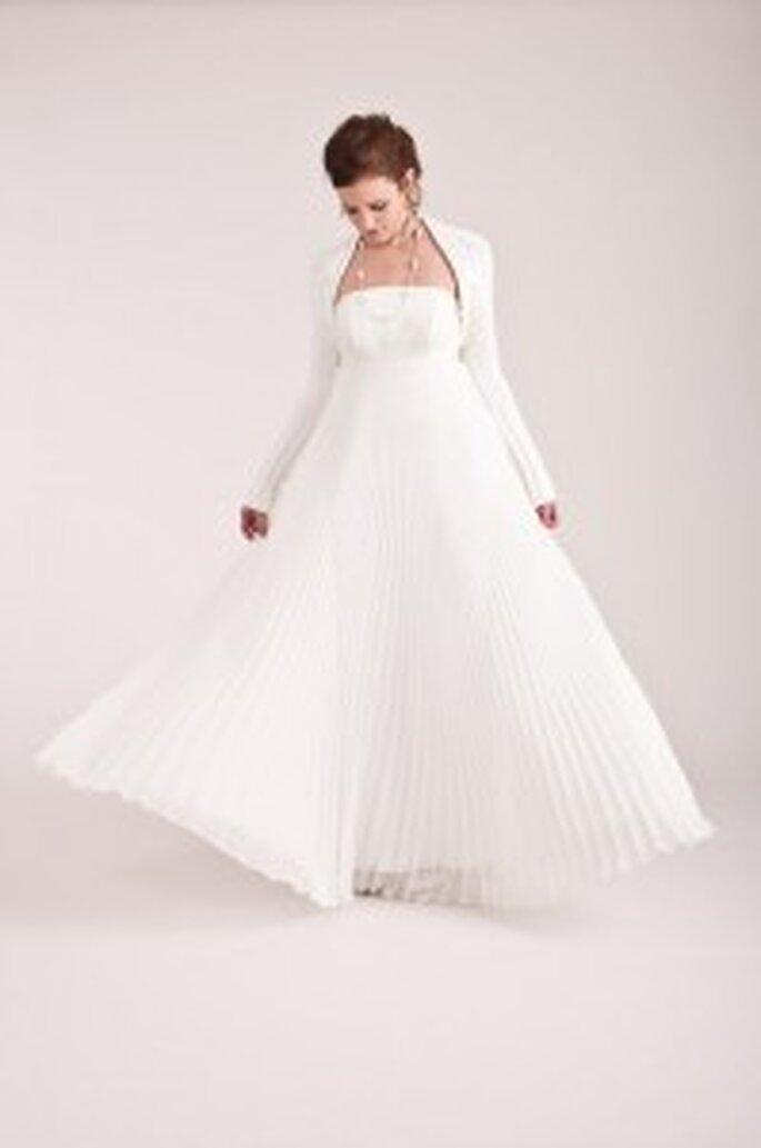 küss die Braut: Seidenkleid + Bolero