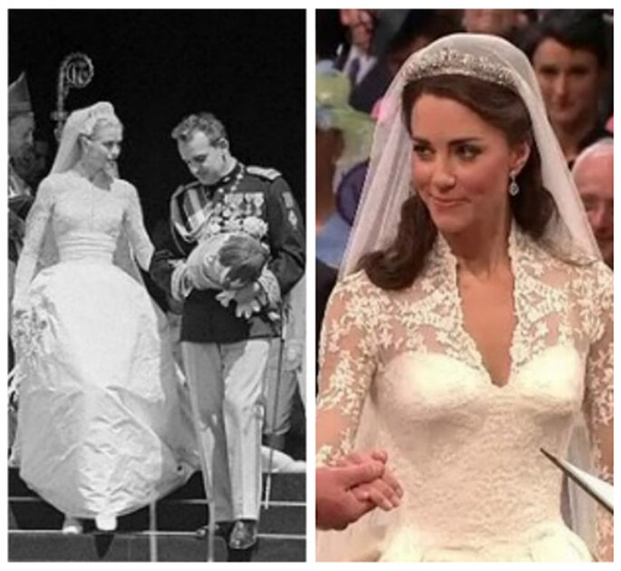 Kate lució un modelo de inspiración Grace Kelly y estaba tan elegante como ella
