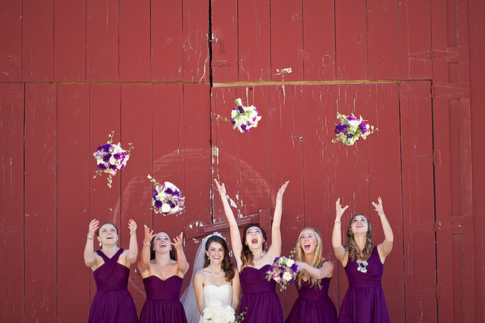 Una boda muy divertida: Garner & Ashley. Foto: B&E Photographs
