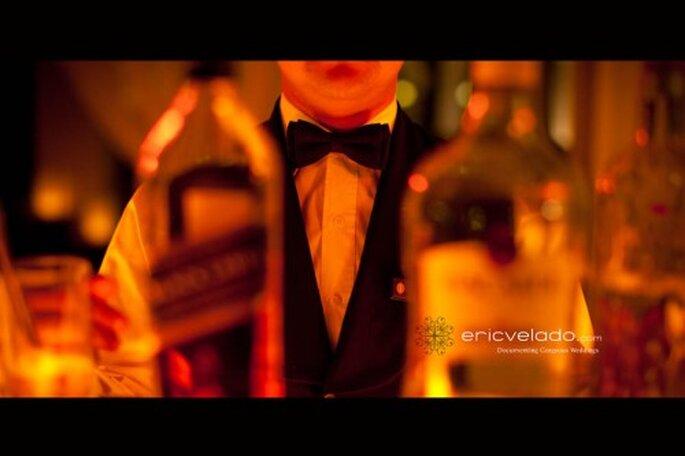 Botellas de vino para bodas. Foto de Eric Velado