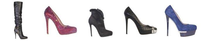 Collezione A/I 2012-13 Le Silla...scarpe strepitose per donne rock! Foto: www.lesilla.it