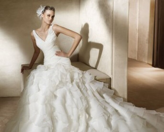 Vestido de la colección Pronovias 2011