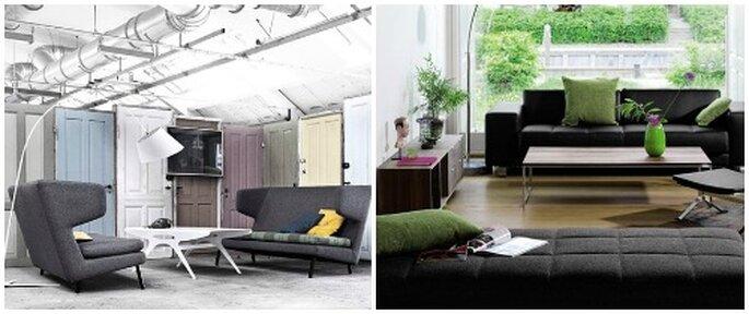 Divani dal design raffinato sul sito di Nordic Living. Foto: www.nordicliving.it