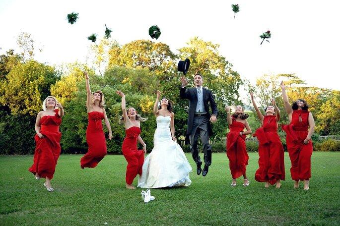 allestimento fotografico matrimonio banchetto