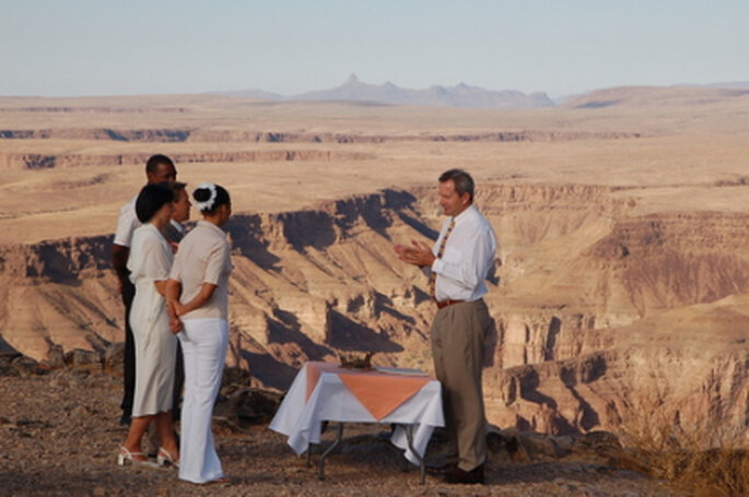 Hochzeit Fish River Canyon - Namibia