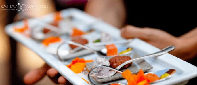 Finger Food als Hochzeitscatering – Foto: Katja Schönemann