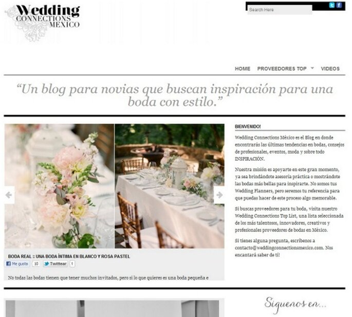 Wedding Connections México, ganador de los ZIWA 2012