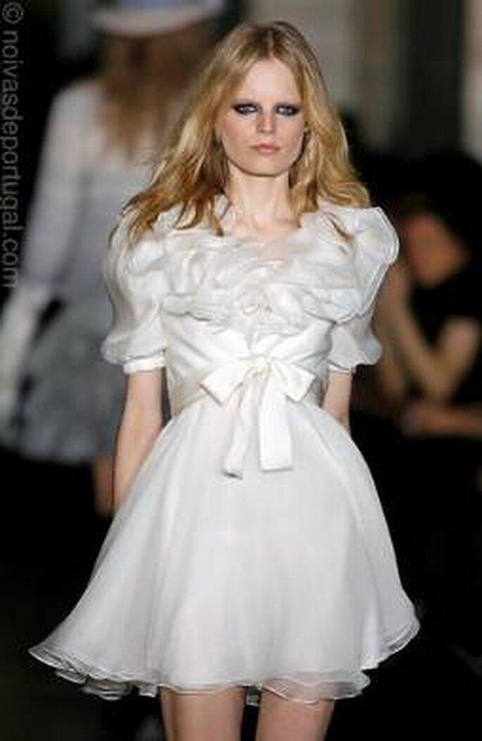 Vestido de Noiva Curto Jill Stuart