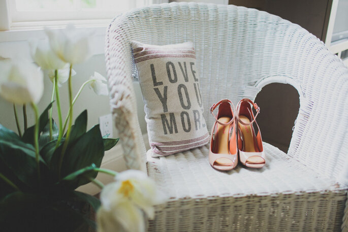 Una boda shabby chic en California. Foto: Chaz Cruz Photographer