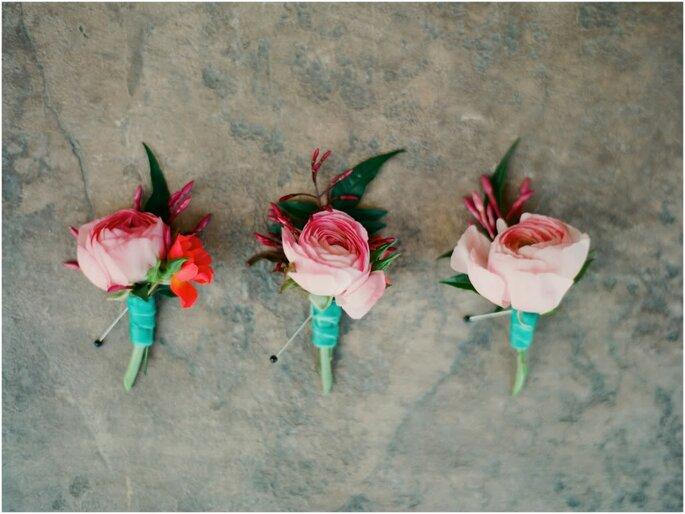 Mini ramos para entregar a tus tres mejores amigas
