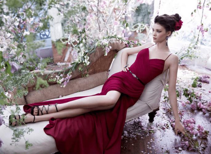 #MartesDeBodas: Vestidos de fiesta 2014 - Foto Noir by Lazaro en JLM Couture