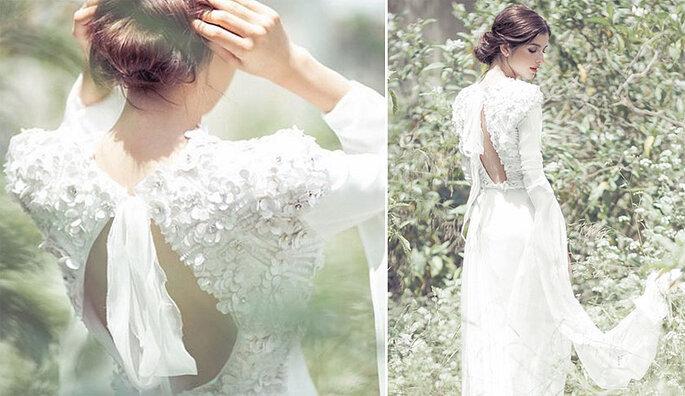 Siete vestidos de novia con personalidad