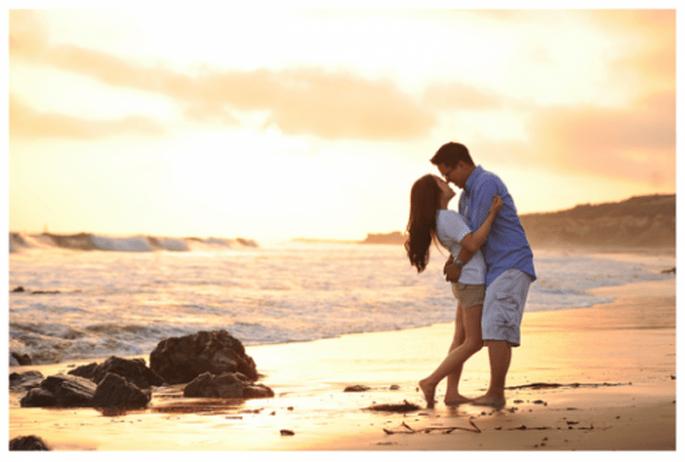 Idées de photos pré mariage pour un couple romantique - Photo Kate Noelle Photography