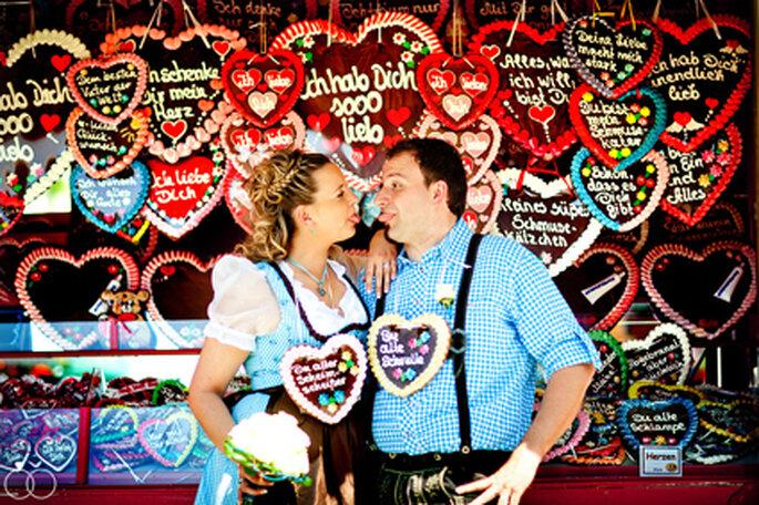 Viele Herzen für Sandra + Roland // Foto: Katja Schünemann