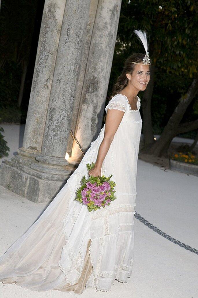 Vestido de novia de Teresa Palazuelo