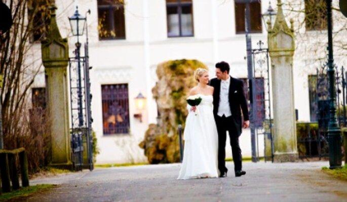 Ein Schloss: Traumkulisse für Ihre Hochzeit. Foto: Katja Schünemann. www.ks-weddings.de