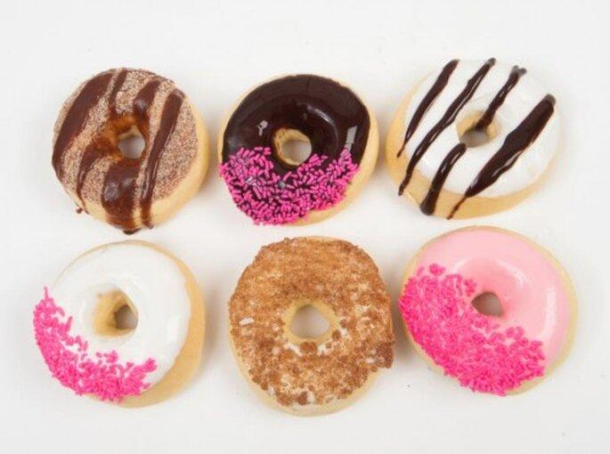 Ofrece donas como postre el día de tu boda - Foto Holey Donuts! Facebook