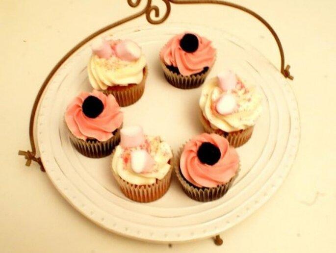 Un surtido de cupcakes para tu boda