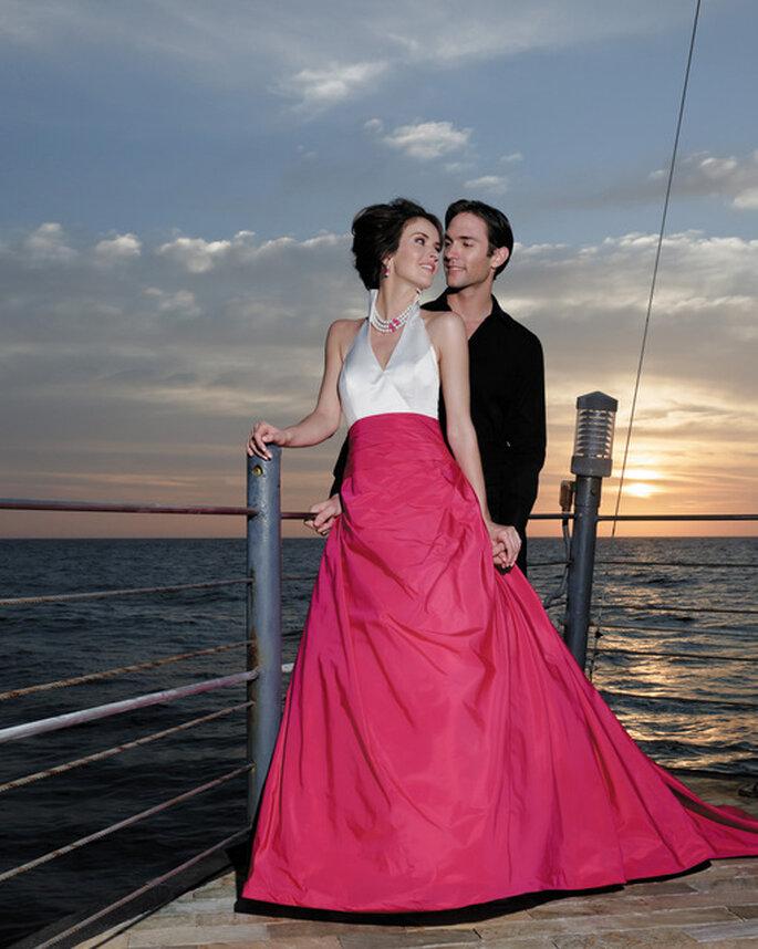Una glamorosa boda en un crucero, con unas fotos inolvidables. Foto: Marylise