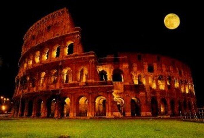 El impresionante Coliseo romano
