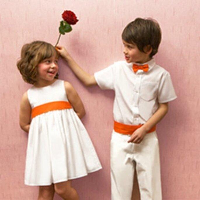 La tenue des enfants d'honneur donne le ton du mariage - Photo : Les petits Inclassables
