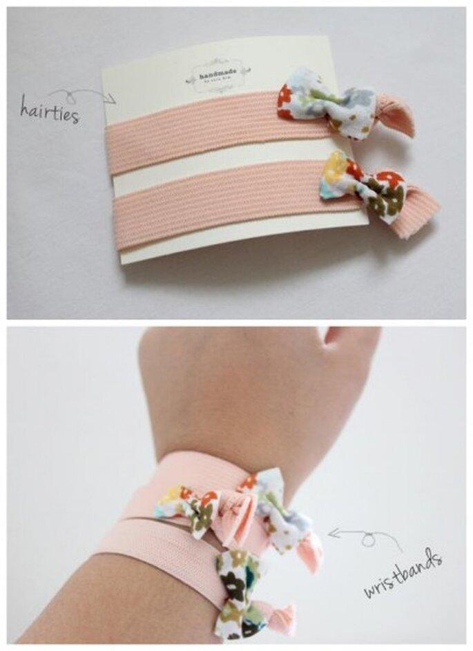 Moños para niña. Foto de Handmade by Sara Kim.