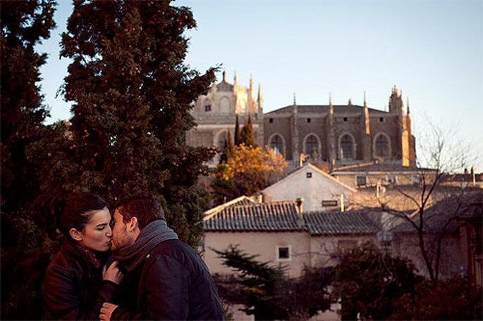 Toledo es perfecta como fondo para un reportaje de otoño. Foto: Dani Alda