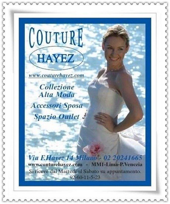 Scopri l'Atelier Couture Hayez