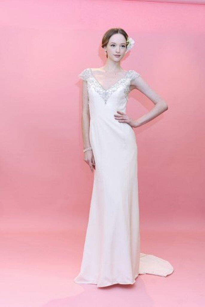 Vestido de novia. Foto de Badgley Mischka.
