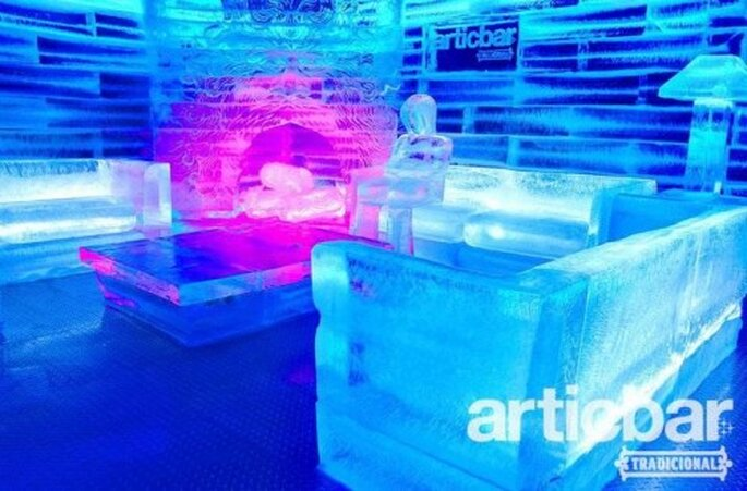 Arte en hielo. Foto de Articbar.