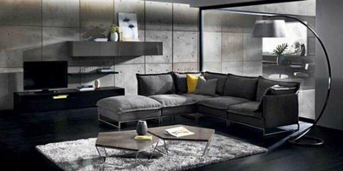 Modello Cambrè, infinite combinazioni per creare il sofà che più vi piace. Divani & Divani By Natuzzi