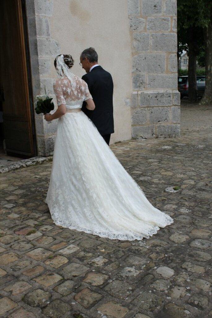 Quoi de plus magique qu'une robe de mariée unique et sur mesure ? - Photo : Pascale de Lavernette