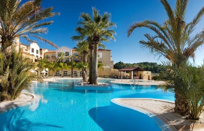 Vier uw bruiloft in een mediterrane stijl aan de Costa Blanca - Foto: Marriott