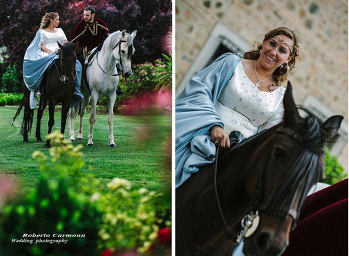 Unas fotos con aire medieval como las películas de Rey Arturo. Foto: Roberto Carmona