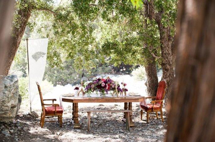 Montaje para un banquete de bodas inspirado en Game of Thrones - Foto Candice Benjamin