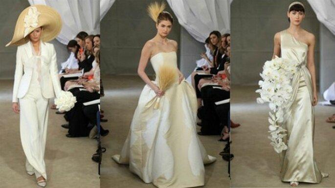 Androgina, fiabesca o dea che sposa vorresti essere Carolina Herrera Spring 2013