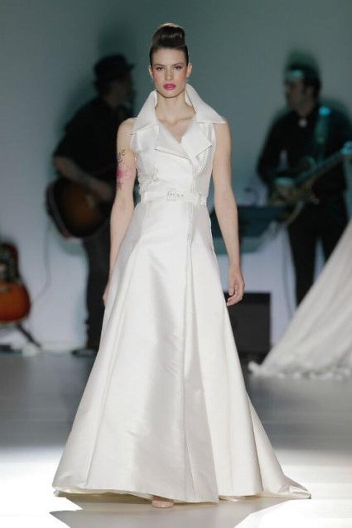 Collection de robes de mariée Isabel Zapardiez 2014. Photo: Barcelona Bridal Week
